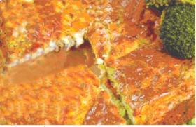 Γυμνή πίτα με κασέρι και κατίκι